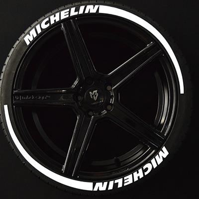 HANKOOK 4x Set Reifen Aufkleber Tire Letters Gummi Sticker Reifenbeschriftung